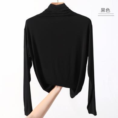 MUYANG韓版熱賣新款半高領打底衫G0031