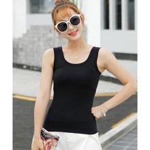 億族 夏季新款韓版修身純色無袖小工字女吊帶背心