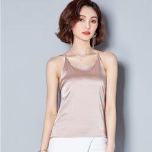 亿族 夏季新款纯色外穿小背心性感显瘦吊带衫女打底衫