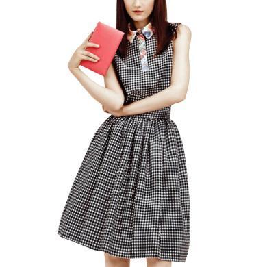 歐美名媛連衣裙女夏蓬蓬裙2019新款氣質通勤襯衫連衣裙瘦腿傘裙