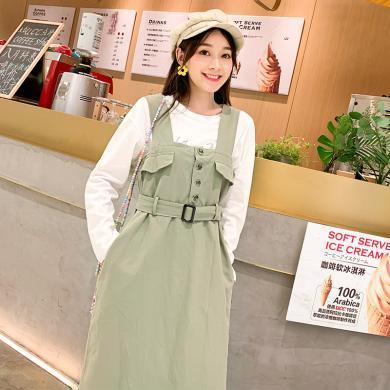 MUYANG秋裝新款女裝裙子日系連衣裙M311