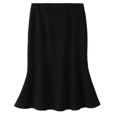 姝奕2019春季新款名媛女裝氣質優雅顯瘦高腰半身裙高腰魚尾裙QBZ88611