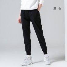 初语2018春秋新款香蕉裤女哈伦裤休闲运动裤束脚系带裤卫裤8714401003