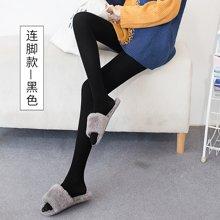 百依恋歌 女士生态棉个性修身显瘦透气连脚打底裤 B80-1