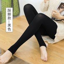 百依恋歌 女士生态棉个性修身显瘦透气踩脚打底裤 B80