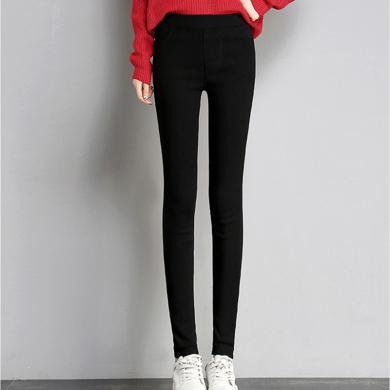 搭歌 2019秋季款韓版打底褲女裝外穿修身顯瘦小腳鉛筆長褲 B0029