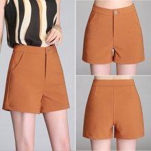 億族 夏季新款韓版休閑短褲女褲寬松顯瘦闊腿褲女西裝褲
