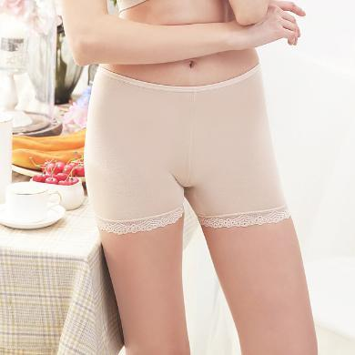NewmanCity安全褲防走光女夏莫代爾內外穿蕾絲打底褲薄款三分保險褲Dadiku6