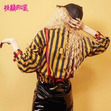 妖精的口袋 戏说条纹  秋季条纹外套