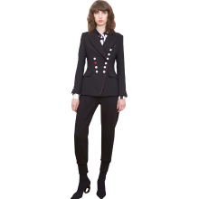 tobebery2019春季新款职业气质女装修身时髦短外套OL通勤小西装女