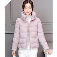 亿族 新款韩版立领时尚百搭学生面包羽绒棉服女棉衣外套