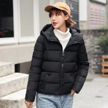 meyou 冬季新款韩版女装个性连帽棉衣宽?#19978;?#30246;面包服时尚百搭棉服