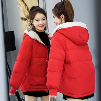 妙芙琳  2019冬季女装新款韩版东大门宽松棉衣ins港风棉袄面包服