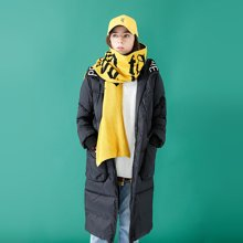 初语品牌羽绒服女中长款2018冬季新款原创设计加厚大口袋连帽外套8740912005