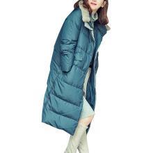 tobebery冬季毛領修身保暖羽絨服加厚面包服時尚氣質羽絨衣女棉衣