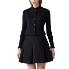 tobebery2018秋季新款套装女欧洲站圆领长袖女装修身显瘦保暖