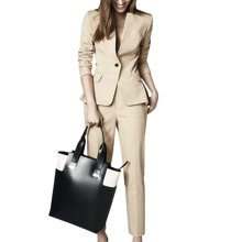tobebery小西装套装女秋季时尚两件套2018新款潮气质ol职业西服
