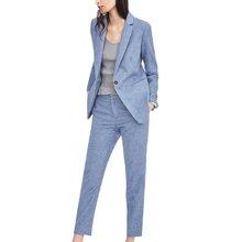 tobobery职业小西装套装两件套女装2019春季新款OL两件套西裤套装