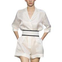 tobebery2019夏季新款欧洲站时尚气质高腰阔腿短裤套装两件套女