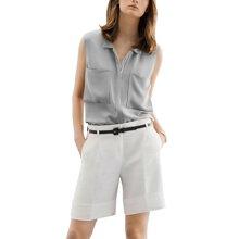 tobebery套装女夏2019新款时尚名媛气质无袖上衣短裤两件套洋气