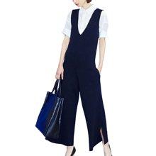tobebery春季套装女时尚两件套2019新款欧洲站职业衬衫阔腿裤春装