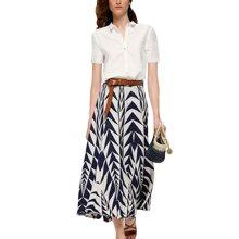 tobebery2019春季新款职业气质套装裙子女时尚半身裙两件套洋气