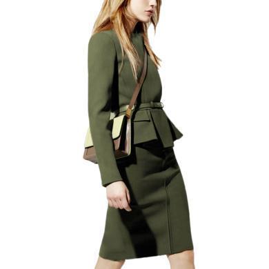 tobebery時尚套裝裙女2020春季新款氣質職業西裝兩件套歐美套裝女