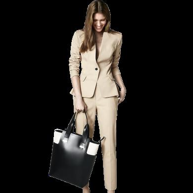 tobebery小西裝套裝女秋季時尚兩件套2020新款潮氣質ol職業西服