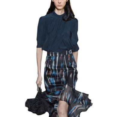 洋氣兩件套包臀魚尾裙套裝裙春夏套裝2019新款女名媛氣質時尚包裙