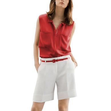 tobebery2019夏季新款女裝兩件套歐美氣質上衣短褲時尚套裝洋氣