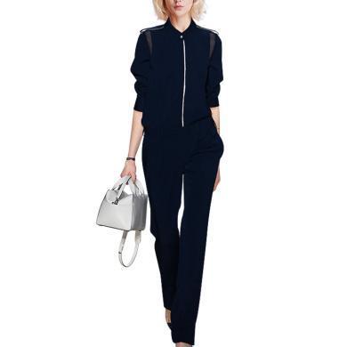 tobebery時尚OL氣質名媛套裝女2020春裝新款御姐襯衫褲子兩件套潮