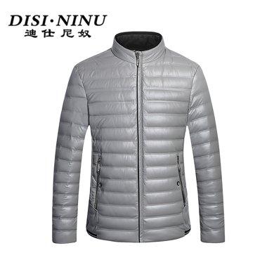 迪仕尼奴冬装新款保暖厚款修身羽绒男商务中青年羽绒服长袖0066