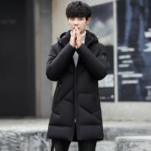 史克维斯羽绒服男冬季新款韩版潮流加厚男款冬装男式中长款男士外套潮Y1812YS