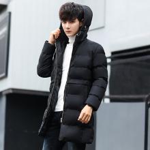 冬季新款外套男韩版修身帅气连帽棉衣男棉服潮流学生加厚棉袄RK-6619