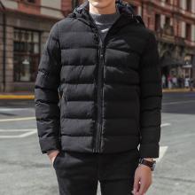 棉衣青年男士外套冬季新款加厚冬装男棉袄潮冬天短款连帽棉服RK-9820