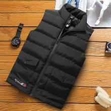 羽绒棉马甲男士秋冬季修身潮流帅气保暖立领坎肩背心马夹韩版外套GT-M012