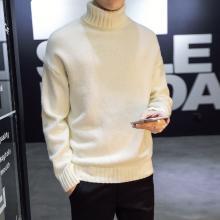 搭歌高领男式毛衣加厚韩版潮流新款冬季针织衫修身加厚毛衣男m560da247