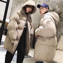 搭歌冬季棉衣男韩版潮流学生宽松棉服中长款面包服帅气棉袄子bw56dc321