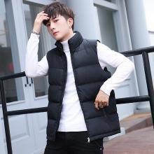 男士冬季加厚立领棉服马甲韩版修身潮流无袖棉衣青年坎肩棉袄外套DQ-LG5801