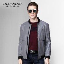 迪仕尼奴秋冬新款男士修身外套保暖舒适时尚男装商务夹克8351C
