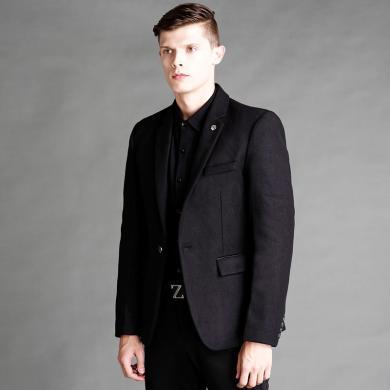 西服男士夹克小西服外套成熟秋冬新款男士西装外套夹克中年商务英伦小西服简约便西上衣小西装西服FN-A605