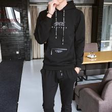 卫衣套装男秋季2019新款韩版潮流一套衣服帅气连帽运动休闲两件套CY-101