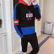 春季2019新款精神小伙休闲套装男韩版潮流青少年学生一套整套衣服RK-TZ602
