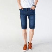 搭歌夏季新款男式牛仔短裤潮流韩版男士五分裤时尚薄款中裤281#