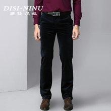 迪仕·尼奴秋冬新款加厚保暖长裤时尚商务青年男士休闲裤子8404D