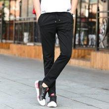 史克维斯春夏季男士休闲裤男装青年韩版修身小脚裤男裤直筒长裤潮裤子K8262