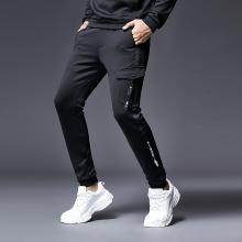 休闲裤男秋冬新款韩版潮流青年学生修身束脚哈伦男士休闲裤BL-8A7701