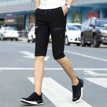 搭歌夏新款男士休闲裤青年男裤直筒五分裤韩版男式短裤181905