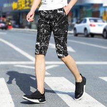 搭歌夏季2018新款韩版五分裤青年短裤弹力休闲中裤181907