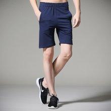 搭歌夏季新款男式休闲裤纯棉简约五分裤青少年运动直筒短款裤子K366